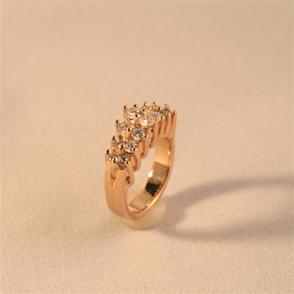 Diamantring, briljantring, guldring