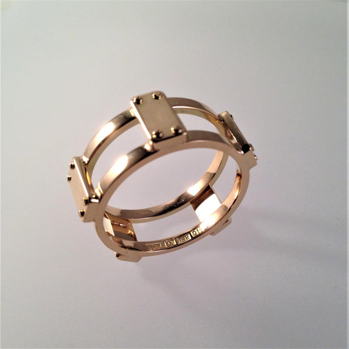 herring, guldring, manlig ring
