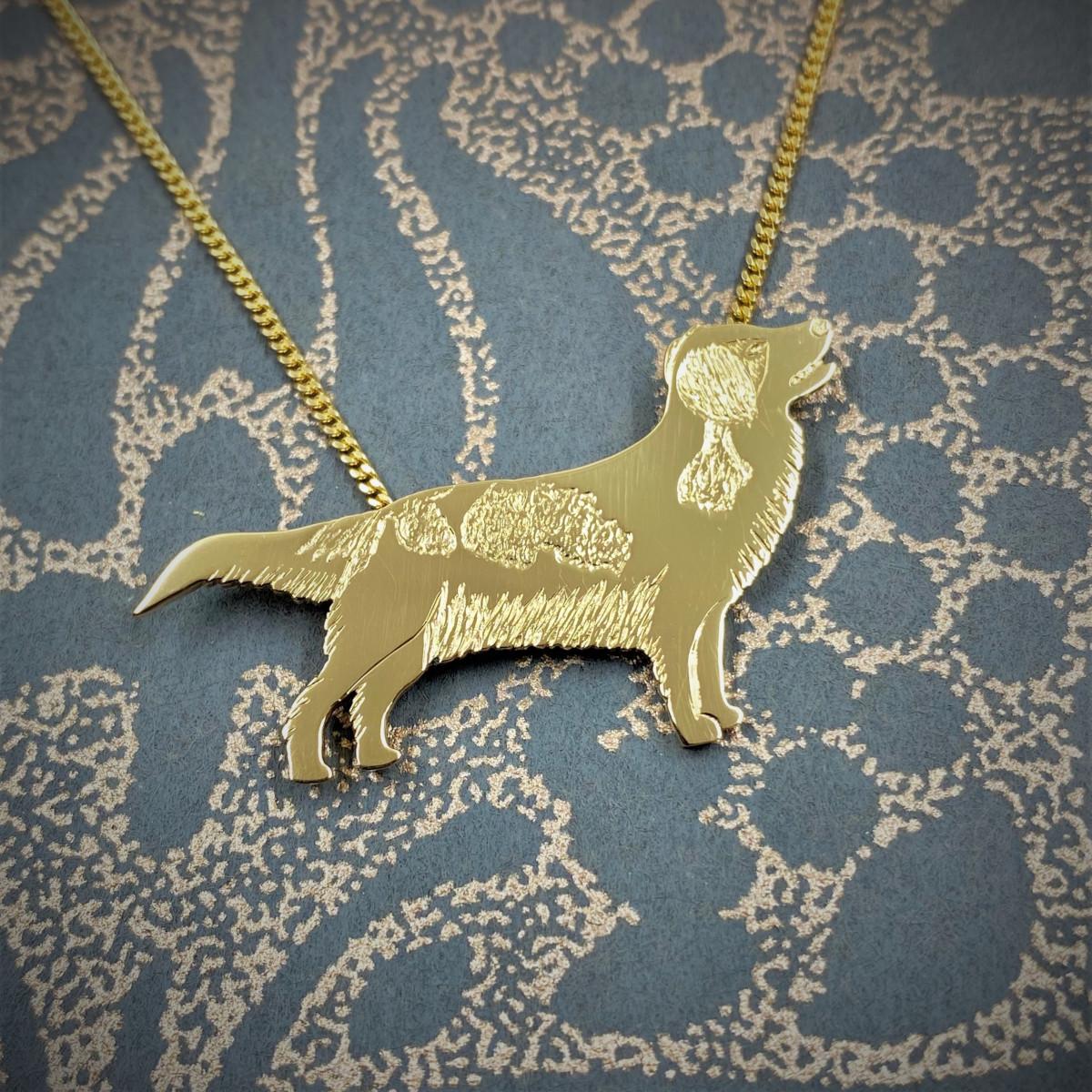 Kooiker, guldhund, guldhänge