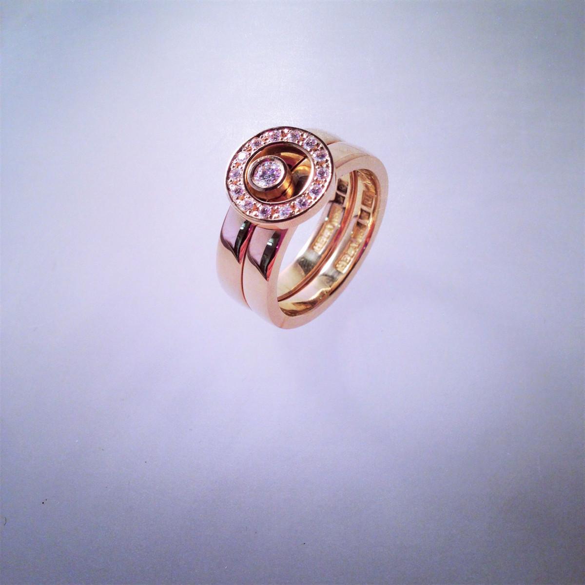 Vigselringar, förlovningsringar, guldringar, turmalinring
